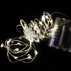 2m 20 LED Submersible Wire String Light Battery Powered Home Party Wedding Decor