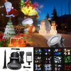 12Pattern Christmas Moving Laser Projector Landscape Stage Light Lamp Waterproof