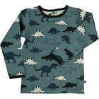 BNWT Boys Smafolk Bluestone Dinosaur Long Sleeved T-shirt NEW Cotton Top