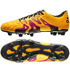 NEW IN BOX - $220 ADIDAS X 15.1 FG/AG MENS K LEATHER SOCCER CLEATS : ORANGE