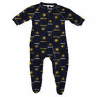 Indiana Pacers Adidas Newborn Raglan Zip-Up Coverall-Old