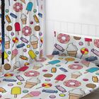 """SWEET DREAMS BEDROOM GIRLS - MATCHING CURTAINS 54"""" & 72"""", SINGLE DUVET COVER SET"""