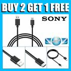 TYPE C USB CHARGER DATA CABLE FOR SONY XPERIA XZ/X Compact /L1/ XA1/ XZ Premium
