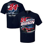 2018 WILLIAM BYRON #24 LIBERTY UNIV NAVY BLUE SHORT SLEEVE TORQUE TEE SHIRT