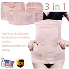 3 in1 Postpartum Support Recovery Maternity Belly Waist Pelvis Belt Shapewear u5