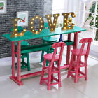 "12"" LED Sign LOVE Letter Marquee Lights Circus Rustic Wedding Decor Colored Lamp"