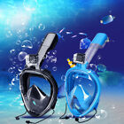 Underwater Scuba Anti Fog Swimming Snorkel Full Face Diving Mask with Anti-skid