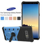 Protective Back Phone Cover Shockproof Kickstand Case for Samsung Galaxy Note 8