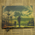 Retro style kraft paper classic game Fallout New Vegas poster