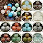 Natural Gemstone Round Ball Crystal Healing Sphere Massage meditationn ball
