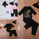 Christmas Toddler Baby Boy Girl Romper Pants Leggings Outfits Clothes Set Newest