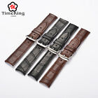 18,19mm,20,21,22mm Genuine Cow Leather thickness & thin Wrist Watch Band Strap