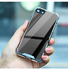 Shock-proof For iPhone 6 6S 7 8 Plus Slim Fashion PC Mirror Soft Full Cover Case