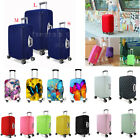 Pure Butterfly Print Elastic Travel Luggage Cover Suitcase Protective Protector
