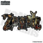 Zombie Decal Zombies Walking Dead Undead Car Truck Gloss Sticker HGV
