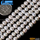 5-6mm Freshwater Pearl Gemstone Loose Beads For Jewelry Making Free Shipping