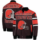 Cleveland Browns G-Iii Extreme 17 Mens Blitz Cotton Twill Jackets