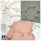 New Silver/Gold Alloy Tiny Bell Anklet For Women Beach Ankle Bracelet Foot Chain