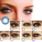 Big Eyes Colored Contacts Lenses Cosmetic Cosplay Party Makeup Circle Lenses uio