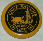 """Boy Scouts """"Lost Valley Orange County Council"""" Pin"""