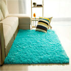 Fluffy Rugs Anti-Skid Shaggy Area Rug Home Room Carpet Floor Mat Kids Playmat US