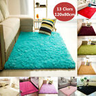 Kyпить Fluffy Rugs Anti-Skid Shaggy Area Rug Home Room Carpet Floor Mat Kids Playmat US на еВаy.соm