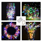 2M-4M 20-40 LED String Fairy Lights Battery Operated Copper Wire Wedding X'mas