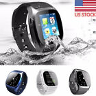 Men Sports Bluetooth Smart Wrist Watch Pedometer Track Call for Android iPhone