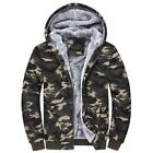 Large Size M-4XL Fashion Men Popular Long Sleeve Hooded Warm Camouflage Hoodie