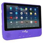 "Envizen 2-in-1 9"" WiFi Android Tablet & Portable DVD Player Quad Core 1GB 16GB"