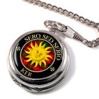 Ker Scottish Clan Pocket Watch
