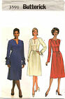 Butterick 3591 Misses Dress Sewing Pattern~ Size 18 20 22