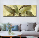 """Canvas Print Painting Wall Art Picture-Tropical Banana Leaf Home Decor16x16""""x3pc"""