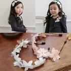 Mesh Lace Flower with Beading Pattern Hair Hoop Hair Accessories For DZ88
