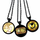 About Game Retro Keychain Black Chicken Chain Charm Pendant Necklace Jewelry New