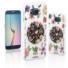 Floral Print Shockproof Case Cover for iPhone X 7 8 Samsung S8 A3 Xiaomi Pretty