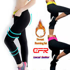 Hot Lady Thermo Sweat Pants Neoprene Body Shaper Slimming Waist Trainer Trousers
