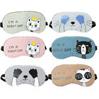 Unisex Soft Eye Aid Mask Sleep Rest Travel Eye Shade Cover Shade Blindfold