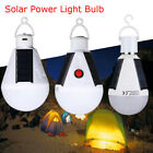 Solar Power LED Bulb Light Portable Outdoor Garden Camping Hiking Tent Lamp 7/9W