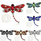 Fashion Crystal Butterfly Brooch Pin Chain Pendent Necklace Women Jewellery Gift