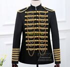 Mens Blazer Groom Prom Suits Jackets&Pant Formal Dress Embroidery Royal Clothes