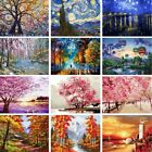 Внешний вид - DIY Scenery Paint By Number Kit Acrylic Oil Painting On Canvas Art Home Decor