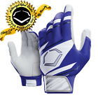 EvoShield Speed Stripe Adult SPEED STRIPE GEL TO SHELL Batting Gloves ROYAL-WHT