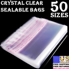 Внешний вид - Clear Plastic Reclosable Seal Bags Clothing Jewelry Large Small Poly Packaging