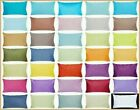 """12x20"""" 100% Cotton Soft Solid Color Throw PILLOW COVER Sofa"""