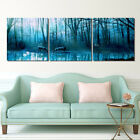 """Forest Deer Lakeside Drink Water-Home Decor Modern Art Print On Canvas16x16""""x3pc"""
