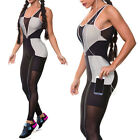 Women Sports Gym Yoga Workout Leggings Fitness Running Athletic Pants Jumpsuit