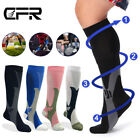 Men's Womens Long Socks Calf Compression Sleeve Stockings Graduated Leg Support