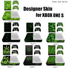 3do console for sale - For Sale Designer Skin Sticker Decal For XBOX ONE S Gaming Console+2 Controller