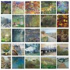 24 Claude Monet 1800's Vintage Fine Art Posters/Stretched Wall Canvas Prints A1+